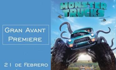 Ganadores de este Fin de Semana para ver el Pre-Estreno de Monster Truks