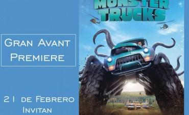 Esta noche Avant Premiere de Monster Trucks