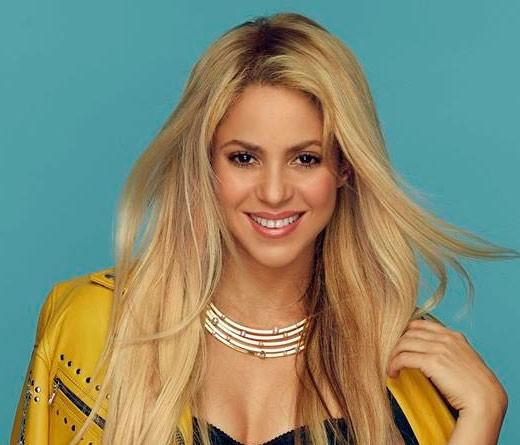 Shakira cantó un tema de Radiohead