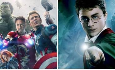 """Este será el curioso vínculo que unirá a """"Los Vengadores"""" con """"Harry Potter"""""""