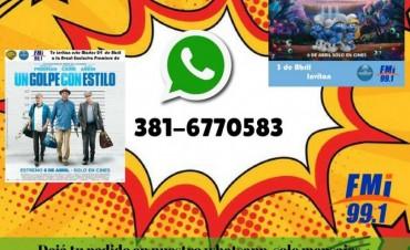 Ganadores de los mensajes de Whatsapp!