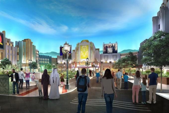Así serán Ciudad Gótica y Metrópolis en este parque temático de Warner Bros