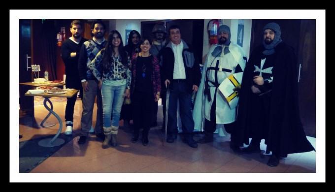 Festejo de las Cien Avant Premieres!