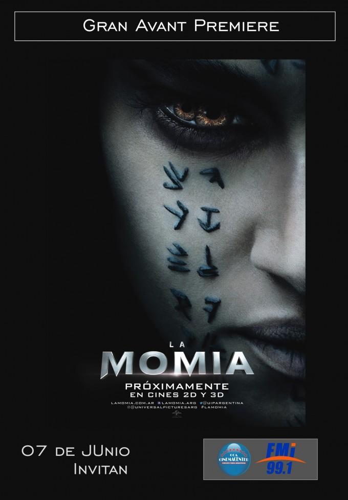 Llegó el día de la Premiere de La Momia