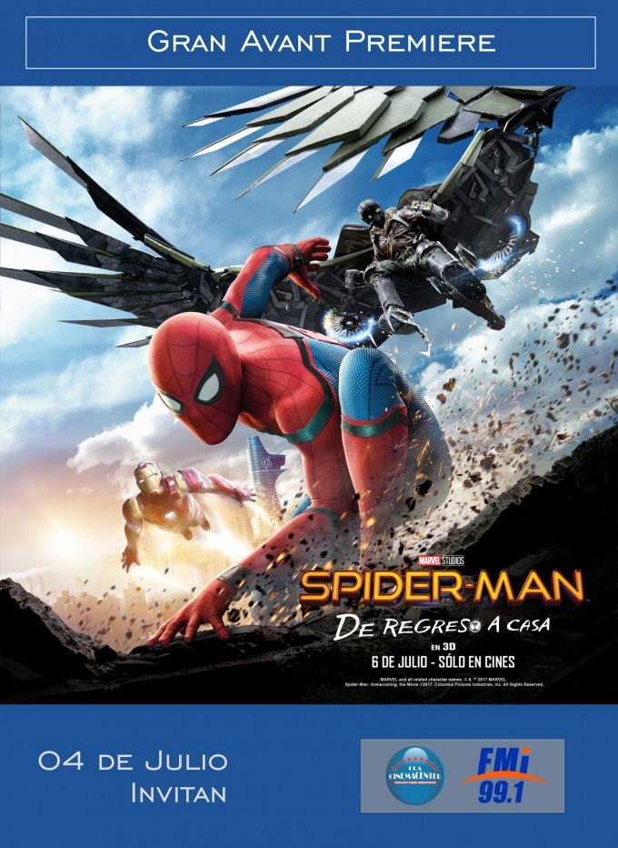 Ganadores para la premiere de Spider-Man de Regreso a Casa
