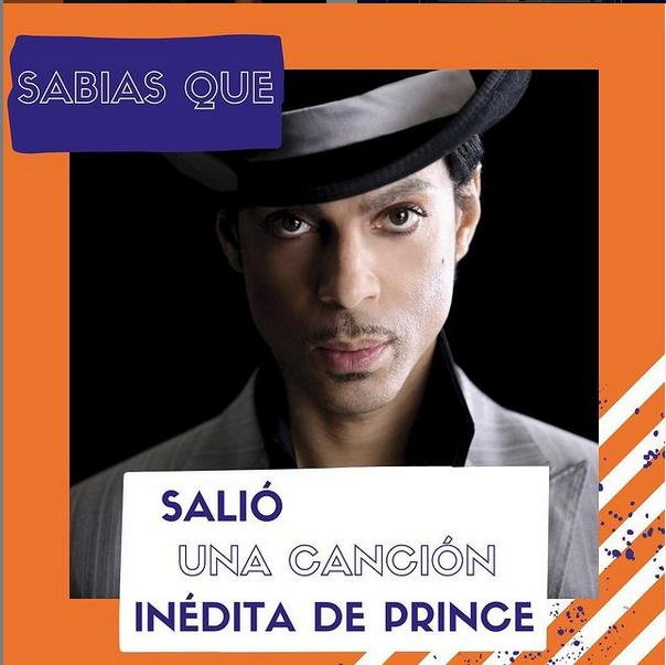 Salió una canción inedita de Prince