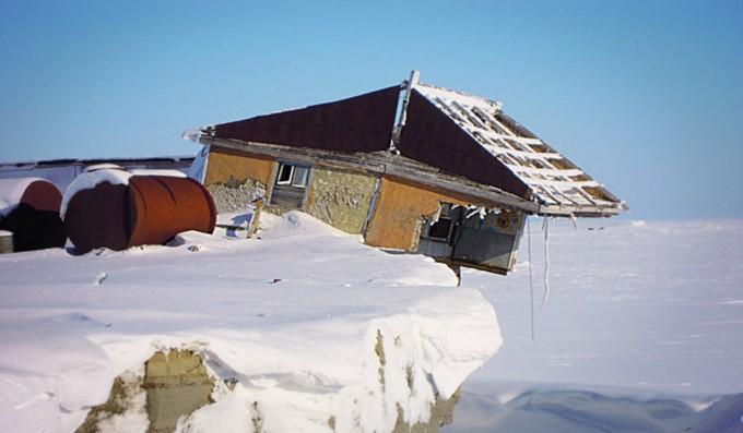 Esta isla en el Ártico Ruso se está desvaneciendo en el océano y todo es culpa del cambio climático