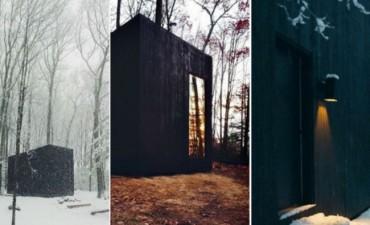 Por fuera parece un simple cubo negro, pero no podrás imaginar lo que se esconde dentro
