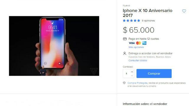 IPhone X: Todavía no salió y ya lo venden en Argentina