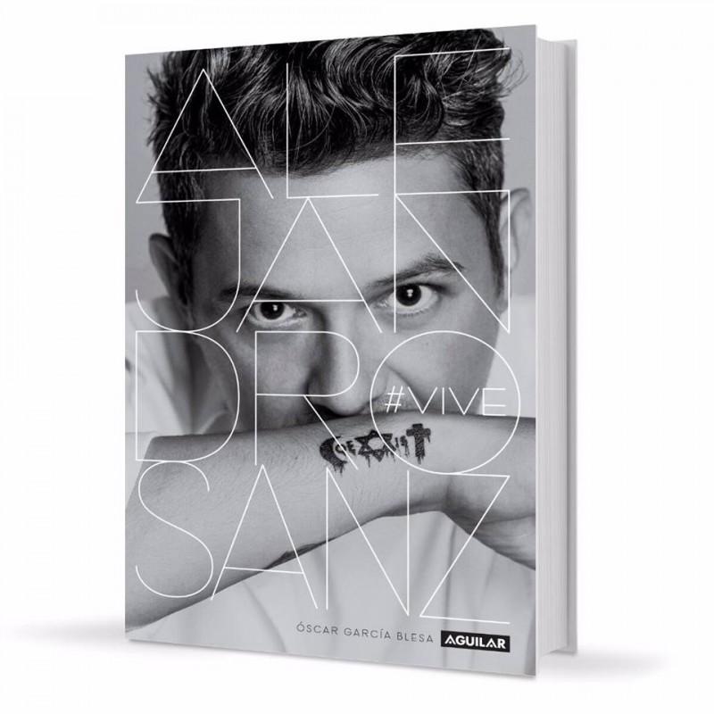 Se lanzará un libro con la biografía de Alejandro Sanz.