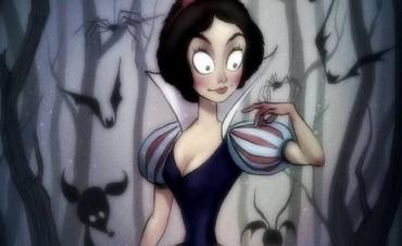 Así se verían tus personajes favoritos de Disney si Tim Burton los dibujara