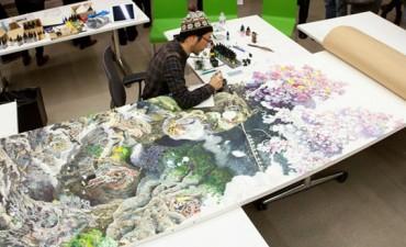 Este artista trabajó 10 horas al día durante 3 años y medio para crear esta obra maestra